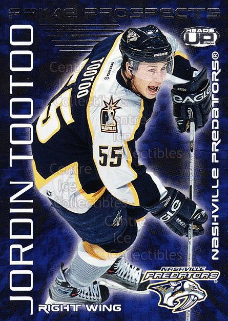 2003-04 Heads-Up Prime Prospects #14 Jordin Tootoo<br/>1 In Stock - $2.00 each - <a href=https://centericecollectibles.foxycart.com/cart?name=2003-04%20Heads-Up%20Prime%20Prospects%20%2314%20Jordin%20Tootoo...&quantity_max=1&price=$2.00&code=115217 class=foxycart> Buy it now! </a>