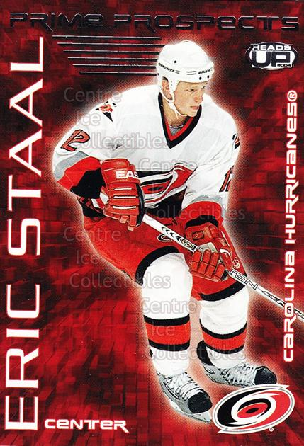 2003-04 Heads-Up Prime Prospects #5 Eric Staal<br/>5 In Stock - $2.00 each - <a href=https://centericecollectibles.foxycart.com/cart?name=2003-04%20Heads-Up%20Prime%20Prospects%20%235%20Eric%20Staal...&quantity_max=5&price=$2.00&code=115226 class=foxycart> Buy it now! </a>