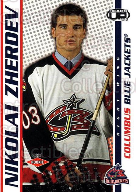 2003-04 Heads-Up #111 Nikolai Zherdev<br/>2 In Stock - $3.00 each - <a href=https://centericecollectibles.foxycart.com/cart?name=2003-04%20Heads-Up%20%23111%20Nikolai%20Zherdev...&quantity_max=2&price=$3.00&code=115338 class=foxycart> Buy it now! </a>