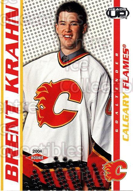 2003-04 Heads-Up #104 Brent Krahn<br/>2 In Stock - $3.00 each - <a href=https://centericecollectibles.foxycart.com/cart?name=2003-04%20Heads-Up%20%23104%20Brent%20Krahn...&quantity_max=2&price=$3.00&code=115364 class=foxycart> Buy it now! </a>