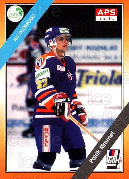 1994-95 Czech APS Extraliga #10 Patrik Rimmel<br/>7 In Stock - $2.00 each - <a href=https://centericecollectibles.foxycart.com/cart?name=1994-95%20Czech%20APS%20Extraliga%20%2310%20Patrik%20Rimmel...&quantity_max=7&price=$2.00&code=1154 class=foxycart> Buy it now! </a>
