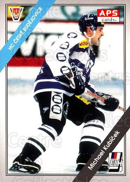 1994-95 Czech APS Extraliga #101 Michael Kubicek<br/>9 In Stock - $2.00 each - <a href=https://centericecollectibles.foxycart.com/cart?name=1994-95%20Czech%20APS%20Extraliga%20%23101%20Michael%20Kubicek...&quantity_max=9&price=$2.00&code=1156 class=foxycart> Buy it now! </a>