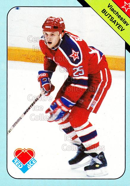 1992-93 Russian Stars Red Ace A #14 Vyatcheslav Butsayev<br/>7 In Stock - $2.00 each - <a href=https://centericecollectibles.foxycart.com/cart?name=1992-93%20Russian%20Stars%20Red%20Ace%20A%20%2314%20Vyatcheslav%20But...&quantity_max=7&price=$2.00&code=11574 class=foxycart> Buy it now! </a>