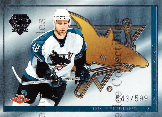 2003-04 Pacific Luxury Suite #76 Tom Preissing<br/>4 In Stock - $3.00 each - <a href=https://centericecollectibles.foxycart.com/cart?name=2003-04%20Pacific%20Luxury%20Suite%20%2376%20Tom%20Preissing...&quantity_max=4&price=$3.00&code=115839 class=foxycart> Buy it now! </a>