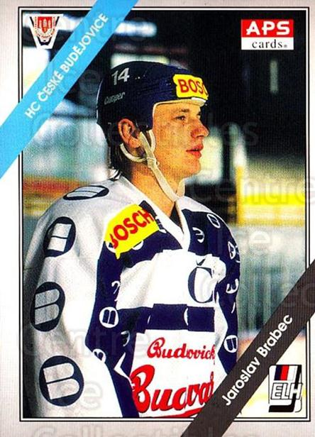 1994-95 Czech APS Extraliga #105 Jaroslav Brabec<br/>10 In Stock - $2.00 each - <a href=https://centericecollectibles.foxycart.com/cart?name=1994-95%20Czech%20APS%20Extraliga%20%23105%20Jaroslav%20Brabec...&quantity_max=10&price=$2.00&code=1159 class=foxycart> Buy it now! </a>