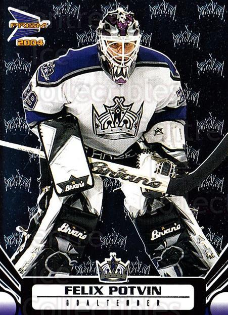 2003-04 Prism #50 Felix Potvin<br/>4 In Stock - $1.00 each - <a href=https://centericecollectibles.foxycart.com/cart?name=2003-04%20Prism%20%2350%20Felix%20Potvin...&quantity_max=4&price=$1.00&code=116008 class=foxycart> Buy it now! </a>