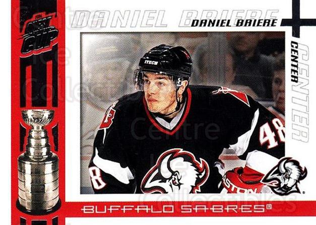 2003-04 Pacific Quest for the Cup #11 Daniel Briere<br/>6 In Stock - $1.00 each - <a href=https://centericecollectibles.foxycart.com/cart?name=2003-04%20Pacific%20Quest%20for%20the%20Cup%20%2311%20Daniel%20Briere...&quantity_max=6&price=$1.00&code=116079 class=foxycart> Buy it now! </a>