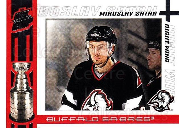 2003-04 Pacific Quest for the Cup #13 Miroslav Satan<br/>7 In Stock - $1.00 each - <a href=https://centericecollectibles.foxycart.com/cart?name=2003-04%20Pacific%20Quest%20for%20the%20Cup%20%2313%20Miroslav%20Satan...&quantity_max=7&price=$1.00&code=116086 class=foxycart> Buy it now! </a>