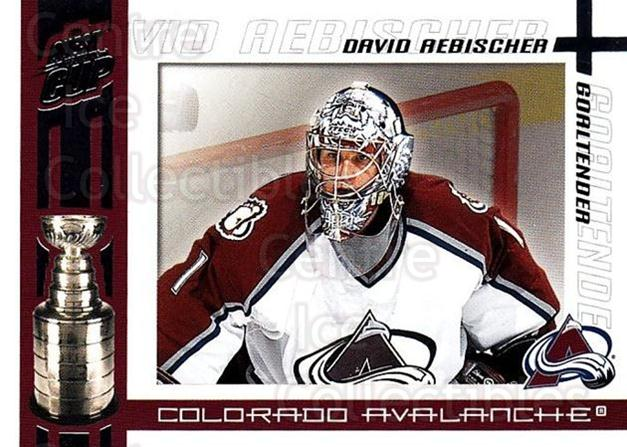 2003-04 Pacific Quest for the Cup #22 David Aebischer<br/>6 In Stock - $1.00 each - <a href=https://centericecollectibles.foxycart.com/cart?name=2003-04%20Pacific%20Quest%20for%20the%20Cup%20%2322%20David%20Aebischer...&quantity_max=6&price=$1.00&code=116095 class=foxycart> Buy it now! </a>