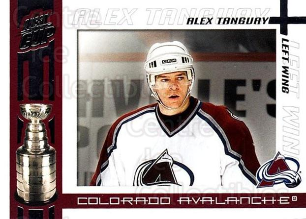 2003-04 Pacific Quest for the Cup #28 Alex Tanguay<br/>5 In Stock - $1.00 each - <a href=https://centericecollectibles.foxycart.com/cart?name=2003-04%20Pacific%20Quest%20for%20the%20Cup%20%2328%20Alex%20Tanguay...&quantity_max=5&price=$1.00&code=116101 class=foxycart> Buy it now! </a>