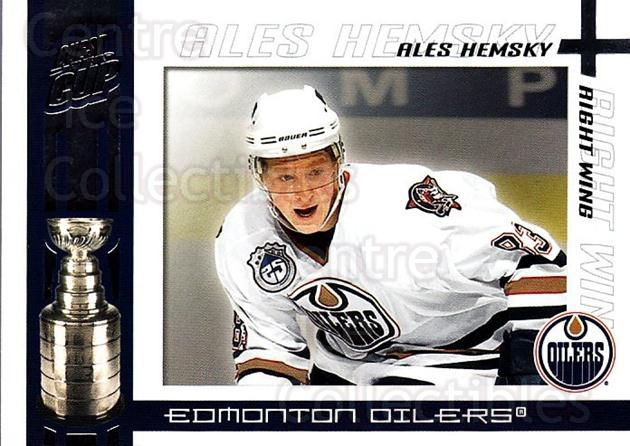 2003-04 Pacific Quest for the Cup #42 Ales Hemsky<br/>7 In Stock - $1.00 each - <a href=https://centericecollectibles.foxycart.com/cart?name=2003-04%20Pacific%20Quest%20for%20the%20Cup%20%2342%20Ales%20Hemsky...&quantity_max=7&price=$1.00&code=116114 class=foxycart> Buy it now! </a>