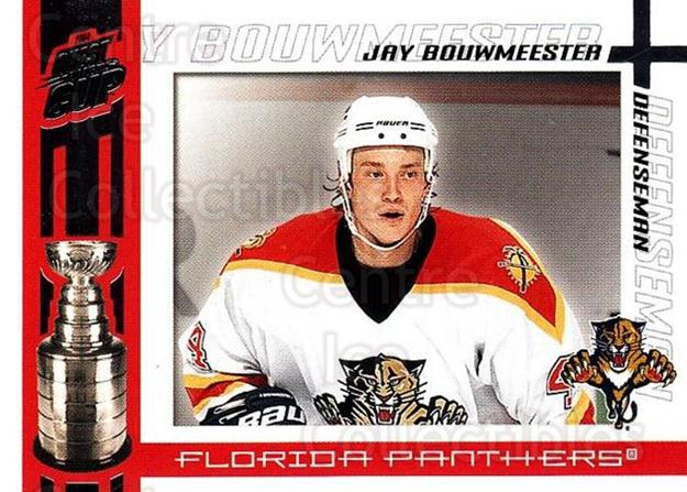 2003-04 Pacific Quest for the Cup #45 Jay Bouwmeester<br/>9 In Stock - $1.00 each - <a href=https://centericecollectibles.foxycart.com/cart?name=2003-04%20Pacific%20Quest%20for%20the%20Cup%20%2345%20Jay%20Bouwmeester...&quantity_max=9&price=$1.00&code=116117 class=foxycart> Buy it now! </a>