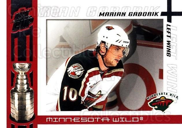 2003-04 Pacific Quest for the Cup #54 Marian Gaborik<br/>5 In Stock - $1.00 each - <a href=https://centericecollectibles.foxycart.com/cart?name=2003-04%20Pacific%20Quest%20for%20the%20Cup%20%2354%20Marian%20Gaborik...&quantity_max=5&price=$1.00&code=116125 class=foxycart> Buy it now! </a>