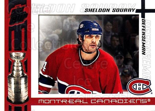2003-04 Pacific Quest for the Cup #58 Sheldon Souray<br/>6 In Stock - $1.00 each - <a href=https://centericecollectibles.foxycart.com/cart?name=2003-04%20Pacific%20Quest%20for%20the%20Cup%20%2358%20Sheldon%20Souray...&quantity_max=6&price=$1.00&code=116127 class=foxycart> Buy it now! </a>