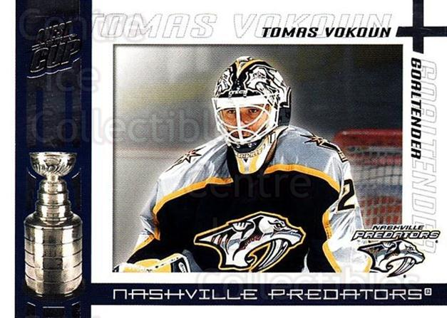 2003-04 Pacific Quest for the Cup #62 Tomas Vokoun<br/>6 In Stock - $1.00 each - <a href=https://centericecollectibles.foxycart.com/cart?name=2003-04%20Pacific%20Quest%20for%20the%20Cup%20%2362%20Tomas%20Vokoun...&quantity_max=6&price=$1.00&code=116130 class=foxycart> Buy it now! </a>