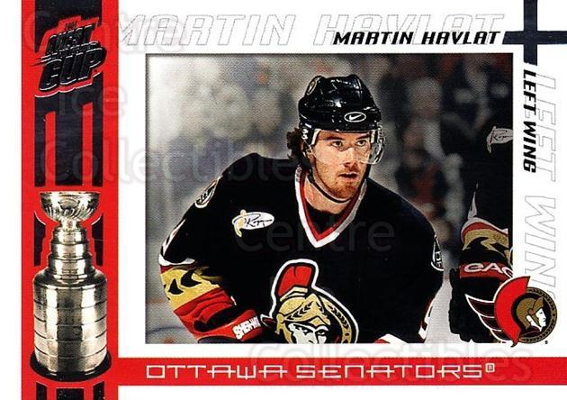 2003-04 Pacific Quest for the Cup #74 Martin Havlat<br/>4 In Stock - $1.00 each - <a href=https://centericecollectibles.foxycart.com/cart?name=2003-04%20Pacific%20Quest%20for%20the%20Cup%20%2374%20Martin%20Havlat...&quantity_max=4&price=$1.00&code=116140 class=foxycart> Buy it now! </a>