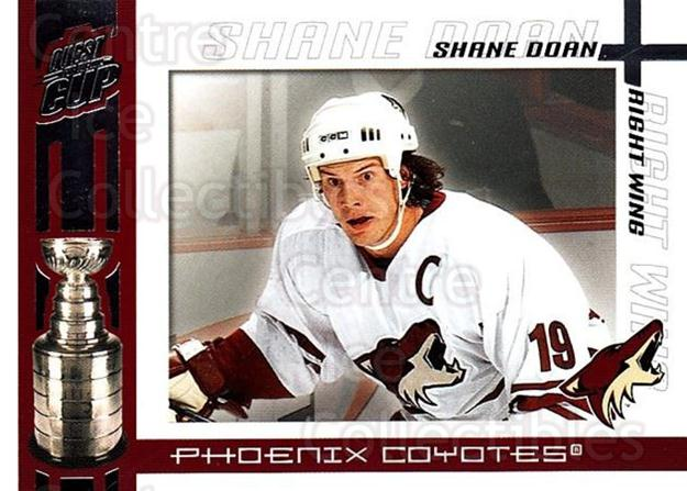 2003-04 Pacific Quest for the Cup #81 Shane Doan<br/>8 In Stock - $1.00 each - <a href=https://centericecollectibles.foxycart.com/cart?name=2003-04%20Pacific%20Quest%20for%20the%20Cup%20%2381%20Shane%20Doan...&quantity_max=8&price=$1.00&code=116148 class=foxycart> Buy it now! </a>