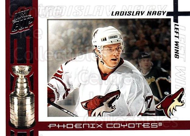2003-04 Pacific Quest for the Cup #82 Ladislav Nagy<br/>7 In Stock - $1.00 each - <a href=https://centericecollectibles.foxycart.com/cart?name=2003-04%20Pacific%20Quest%20for%20the%20Cup%20%2382%20Ladislav%20Nagy...&quantity_max=7&price=$1.00&code=116149 class=foxycart> Buy it now! </a>