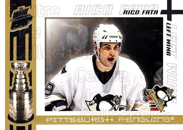 2003-04 Pacific Quest for the Cup #83 Rico Fata<br/>4 In Stock - $1.00 each - <a href=https://centericecollectibles.foxycart.com/cart?name=2003-04%20Pacific%20Quest%20for%20the%20Cup%20%2383%20Rico%20Fata...&quantity_max=4&price=$1.00&code=116150 class=foxycart> Buy it now! </a>