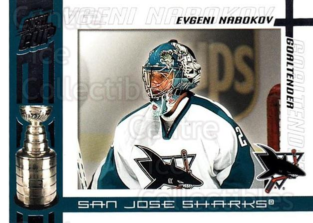 2003-04 Pacific Quest for the Cup #90 Evgeni Nabokov<br/>6 In Stock - $1.00 each - <a href=https://centericecollectibles.foxycart.com/cart?name=2003-04%20Pacific%20Quest%20for%20the%20Cup%20%2390%20Evgeni%20Nabokov...&quantity_max=6&price=$1.00&code=116154 class=foxycart> Buy it now! </a>