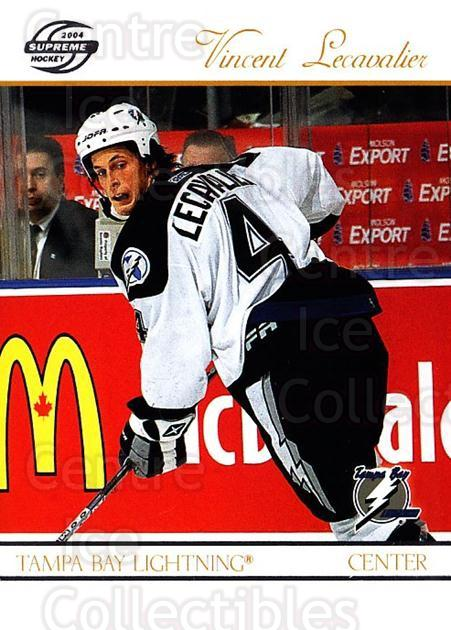 2003-04 Supreme Retail #88 Vincent Lecavalier<br/>5 In Stock - $1.00 each - <a href=https://centericecollectibles.foxycart.com/cart?name=2003-04%20Supreme%20Retail%20%2388%20Vincent%20Lecaval...&quantity_max=5&price=$1.00&code=116306 class=foxycart> Buy it now! </a>