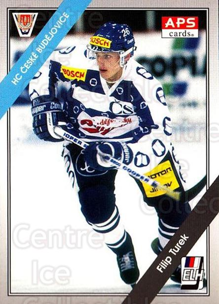1994-95 Czech APS Extraliga #109 Filip Turek<br/>5 In Stock - $2.00 each - <a href=https://centericecollectibles.foxycart.com/cart?name=1994-95%20Czech%20APS%20Extraliga%20%23109%20Filip%20Turek...&quantity_max=5&price=$2.00&code=1163 class=foxycart> Buy it now! </a>