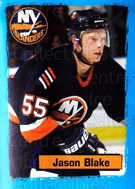 2003-04 Panini Stickers #103 Jason Blake<br/>3 In Stock - $1.00 each - <a href=https://centericecollectibles.foxycart.com/cart?name=2003-04%20Panini%20Stickers%20%23103%20Jason%20Blake...&quantity_max=3&price=$1.00&code=116498 class=foxycart> Buy it now! </a>