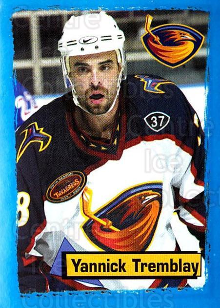 2003-04 Panini Stickers #11 Yannick Tremblay<br/>5 In Stock - $1.00 each - <a href=https://centericecollectibles.foxycart.com/cart?name=2003-04%20Panini%20Stickers%20%2311%20Yannick%20Trembla...&quantity_max=5&price=$1.00&code=116504 class=foxycart> Buy it now! </a>