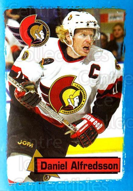 2003-04 Panini Stickers #118 Daniel Alfredsson<br/>4 In Stock - $1.00 each - <a href=https://centericecollectibles.foxycart.com/cart?name=2003-04%20Panini%20Stickers%20%23118%20Daniel%20Alfredss...&quantity_max=4&price=$1.00&code=116513 class=foxycart> Buy it now! </a>