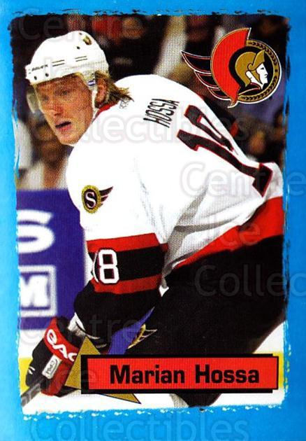 2003-04 Panini Stickers #121 Marian Hossa<br/>3 In Stock - $1.00 each - <a href=https://centericecollectibles.foxycart.com/cart?name=2003-04%20Panini%20Stickers%20%23121%20Marian%20Hossa...&quantity_max=3&price=$1.00&code=116517 class=foxycart> Buy it now! </a>