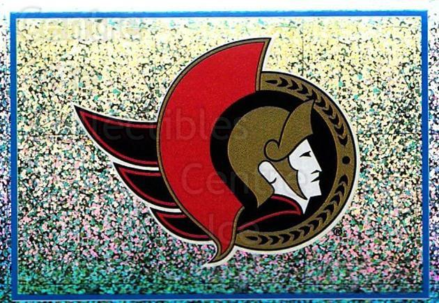 2003-04 Panini Stickers #124 Ottawa Senators<br/>7 In Stock - $1.00 each - <a href=https://centericecollectibles.foxycart.com/cart?name=2003-04%20Panini%20Stickers%20%23124%20Ottawa%20Senators...&quantity_max=7&price=$1.00&code=116520 class=foxycart> Buy it now! </a>