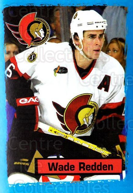 2003-04 Panini Stickers #126 Wade Redden<br/>6 In Stock - $1.00 each - <a href=https://centericecollectibles.foxycart.com/cart?name=2003-04%20Panini%20Stickers%20%23126%20Wade%20Redden...&quantity_max=6&price=$1.00&code=116522 class=foxycart> Buy it now! </a>