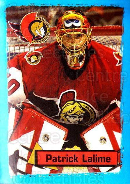 2003-04 Panini Stickers #129 Patrick Lalime<br/>3 In Stock - $1.00 each - <a href=https://centericecollectibles.foxycart.com/cart?name=2003-04%20Panini%20Stickers%20%23129%20Patrick%20Lalime...&quantity_max=3&price=$1.00&code=116525 class=foxycart> Buy it now! </a>