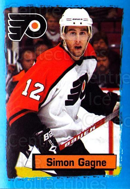 2003-04 Panini Stickers #138 Simon Gagne<br/>6 In Stock - $1.00 each - <a href=https://centericecollectibles.foxycart.com/cart?name=2003-04%20Panini%20Stickers%20%23138%20Simon%20Gagne...&quantity_max=6&price=$1.00&code=116535 class=foxycart> Buy it now! </a>