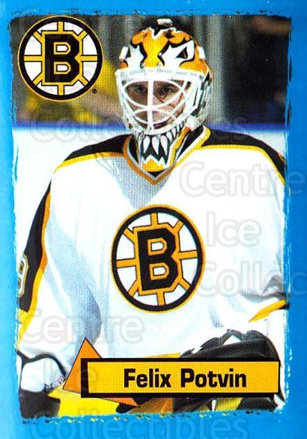 2003-04 Panini Stickers #17 Felix Potvin<br/>4 In Stock - $2.00 each - <a href=https://centericecollectibles.foxycart.com/cart?name=2003-04%20Panini%20Stickers%20%2317%20Felix%20Potvin...&quantity_max=4&price=$2.00&code=116566 class=foxycart> Buy it now! </a>