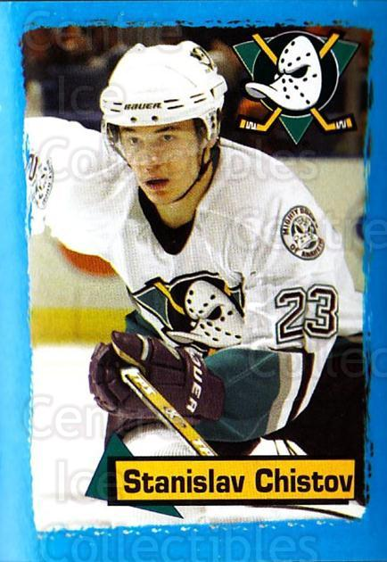 2003-04 Panini Stickers #198 Stanislav Chistov<br/>6 In Stock - $1.00 each - <a href=https://centericecollectibles.foxycart.com/cart?name=2003-04%20Panini%20Stickers%20%23198%20Stanislav%20Chist...&quantity_max=6&price=$1.00&code=116595 class=foxycart> Buy it now! </a>