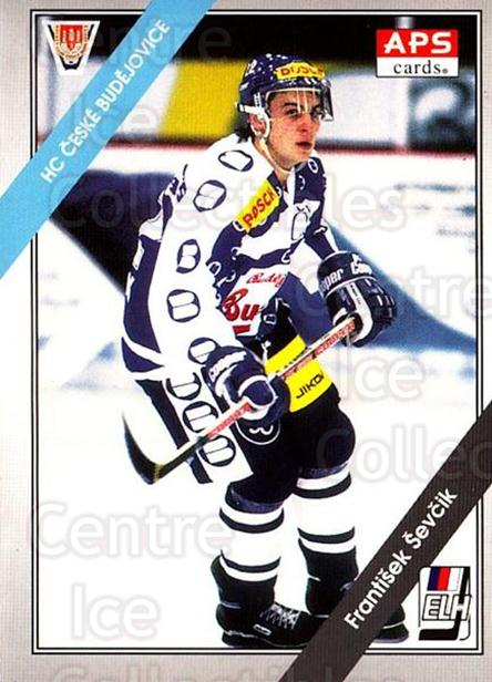 1994-95 Czech APS Extraliga #111 Frantisek Sevcik<br/>9 In Stock - $2.00 each - <a href=https://centericecollectibles.foxycart.com/cart?name=1994-95%20Czech%20APS%20Extraliga%20%23111%20Frantisek%20Sevci...&quantity_max=9&price=$2.00&code=1165 class=foxycart> Buy it now! </a>