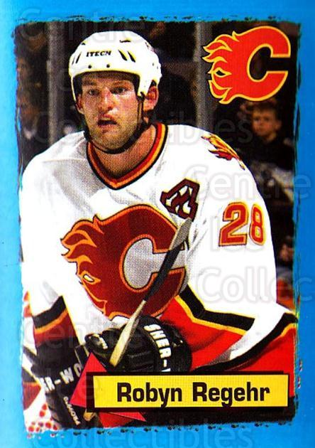2003-04 Panini Stickers #218 Robyn Regehr<br/>9 In Stock - $1.00 each - <a href=https://centericecollectibles.foxycart.com/cart?name=2003-04%20Panini%20Stickers%20%23218%20Robyn%20Regehr...&quantity_max=9&price=$1.00&code=116616 class=foxycart> Buy it now! </a>