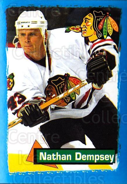 2003-04 Panini Stickers #234 Nathan Dempsey<br/>4 In Stock - $1.00 each - <a href=https://centericecollectibles.foxycart.com/cart?name=2003-04%20Panini%20Stickers%20%23234%20Nathan%20Dempsey...&quantity_max=4&price=$1.00&code=116633 class=foxycart> Buy it now! </a>