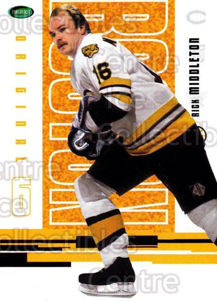 2003-04 Parkhurst Original Six Boston Bruins #53 Rick Middleton<br/>9 In Stock - $1.00 each - <a href=https://centericecollectibles.foxycart.com/cart?name=2003-04%20Parkhurst%20Original%20Six%20Boston%20Bruins%20%2353%20Rick%20Middleton...&quantity_max=9&price=$1.00&code=116686 class=foxycart> Buy it now! </a>