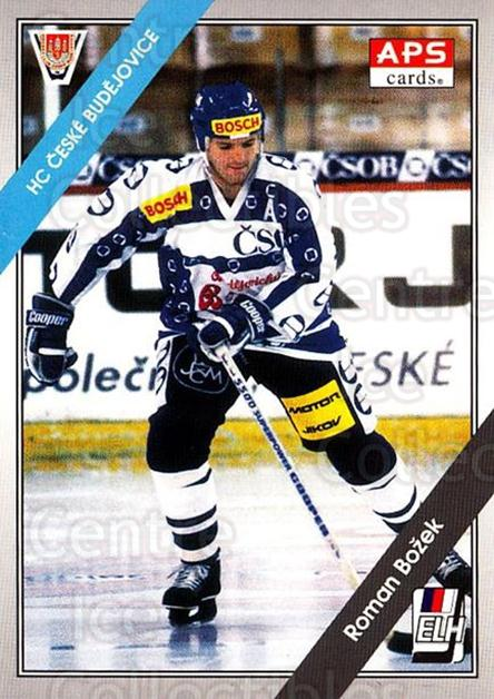 1994-95 Czech APS Extraliga #112 Roman Bozek<br/>6 In Stock - $2.00 each - <a href=https://centericecollectibles.foxycart.com/cart?name=1994-95%20Czech%20APS%20Extraliga%20%23112%20Roman%20Bozek...&quantity_max=6&price=$2.00&code=1166 class=foxycart> Buy it now! </a>