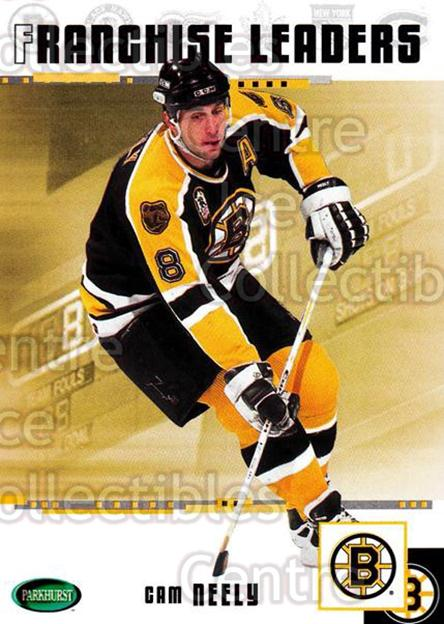 2003-04 Parkhurst Original Six Boston Bruins #98 Cam Neely<br/>8 In Stock - $1.00 each - <a href=https://centericecollectibles.foxycart.com/cart?name=2003-04%20Parkhurst%20Original%20Six%20Boston%20Bruins%20%2398%20Cam%20Neely...&quantity_max=8&price=$1.00&code=116729 class=foxycart> Buy it now! </a>