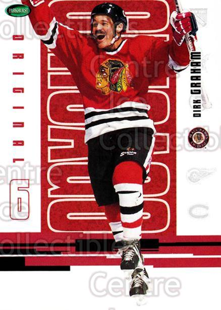 2003-04 Parkhurst Original Six Chicago Blackhawks #39 Dirk Graham<br/>9 In Stock - $1.00 each - <a href=https://centericecollectibles.foxycart.com/cart?name=2003-04%20Parkhurst%20Original%20Six%20Chicago%20Blackhawks%20%2339%20Dirk%20Graham...&quantity_max=9&price=$1.00&code=116774 class=foxycart> Buy it now! </a>
