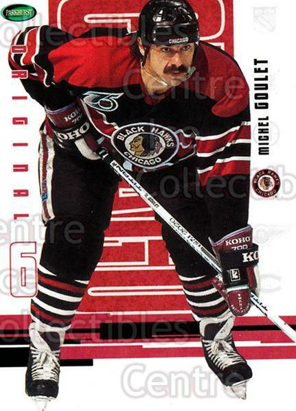 2003-04 Parkhurst Original Six Chicago Blackhawks #54 Michel Goulet<br/>9 In Stock - $1.00 each - <a href=https://centericecollectibles.foxycart.com/cart?name=2003-04%20Parkhurst%20Original%20Six%20Chicago%20Blackhawks%20%2354%20Michel%20Goulet...&quantity_max=9&price=$1.00&code=116790 class=foxycart> Buy it now! </a>