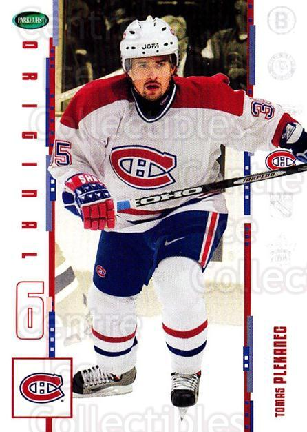2003-04 Parkhurst Original Six Montreal Canadiens #1 Tomas Plekanec<br/>2 In Stock - $2.00 each - <a href=https://centericecollectibles.foxycart.com/cart?name=2003-04%20Parkhurst%20Original%20Six%20Montreal%20Canadiens%20%231%20Tomas%20Plekanec...&quantity_max=2&price=$2.00&code=116897 class=foxycart> Buy it now! </a>