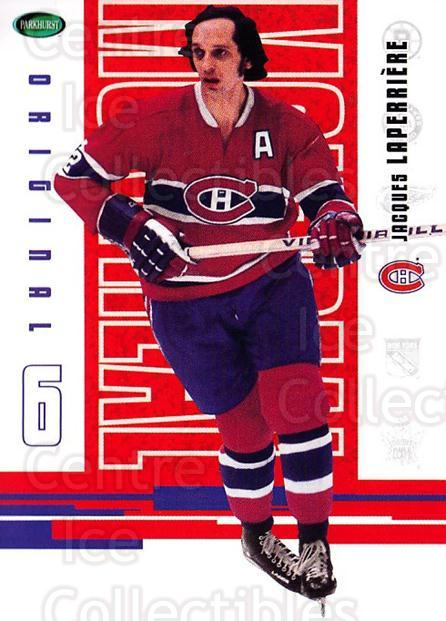 2003-04 Parkhurst Original Six Montreal Canadiens #36 Jacques Laperriere<br/>11 In Stock - $1.00 each - <a href=https://centericecollectibles.foxycart.com/cart?name=2003-04%20Parkhurst%20Original%20Six%20Montreal%20Canadiens%20%2336%20Jacques%20Laperri...&quantity_max=11&price=$1.00&code=116925 class=foxycart> Buy it now! </a>