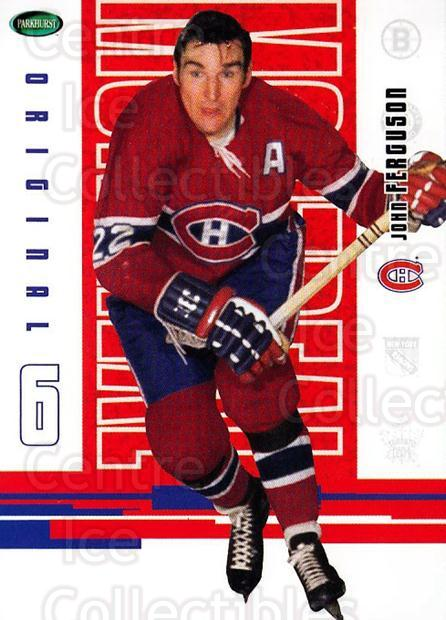 2003-04 Parkhurst Original Six Montreal Canadiens #52 John Ferguson<br/>8 In Stock - $1.00 each - <a href=https://centericecollectibles.foxycart.com/cart?name=2003-04%20Parkhurst%20Original%20Six%20Montreal%20Canadiens%20%2352%20John%20Ferguson...&price=$1.00&code=116942 class=foxycart> Buy it now! </a>