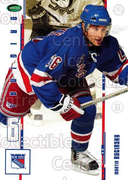 2003-04 Parkhurst Original Six New York Rangers #17 Martin Rucinsky<br/>3 In Stock - $1.00 each - <a href=https://centericecollectibles.foxycart.com/cart?name=2003-04%20Parkhurst%20Original%20Six%20New%20York%20Rangers%20%2317%20Martin%20Rucinsky...&quantity_max=3&price=$1.00&code=117009 class=foxycart> Buy it now! </a>