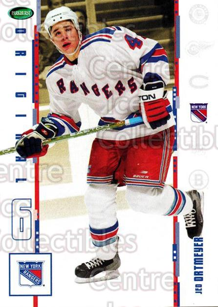 2003-04 Parkhurst Original Six New York Rangers #24 Jed Ortmeyer<br/>6 In Stock - $1.00 each - <a href=https://centericecollectibles.foxycart.com/cart?name=2003-04%20Parkhurst%20Original%20Six%20New%20York%20Rangers%20%2324%20Jed%20Ortmeyer...&quantity_max=6&price=$1.00&code=117017 class=foxycart> Buy it now! </a>