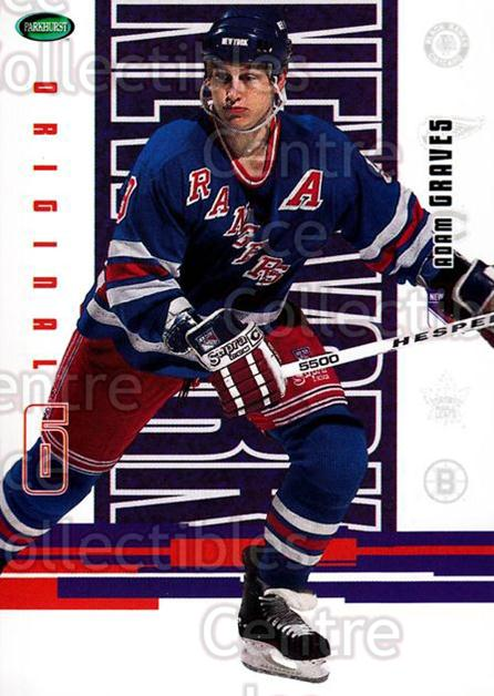 2003-04 Parkhurst Original Six New York Rangers #31 Adam Graves<br/>8 In Stock - $1.00 each - <a href=https://centericecollectibles.foxycart.com/cart?name=2003-04%20Parkhurst%20Original%20Six%20New%20York%20Rangers%20%2331%20Adam%20Graves...&quantity_max=8&price=$1.00&code=117023 class=foxycart> Buy it now! </a>